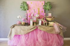 Hostess with the Mostess® - Pink Glam Safari Party