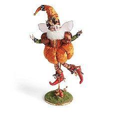 Pumpkin Decorations - Artificial Pumpkins - Pumpkin Decor - Grandin Road Mark Roberts limited edition Pumpkin Fairy