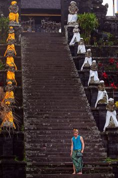 Besakih Temple is the biggest Hindu temple in Bali which the local people call Pura Besakih. It owns beautiful view from the top of temple area where we can see the wide nature panorama until to the ocean