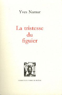 La tristesse du figuier / Yves Namur - Castellare-di-Casinca : Lettres Vives, cop. 2012