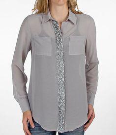 BKE Boutique Chiffon Shirt