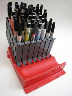 Museum of Forgotten Art Supplies - Letraset Marker Organizer - Color Tools