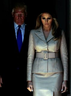 Trump Hits Alps but Melania Is Frosty in Florida