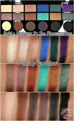 "Makeup Revolution ""Welcome to the pleasuredome"" Palette"