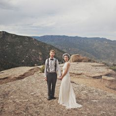 On Top of a Mountain on Etsy Weddings