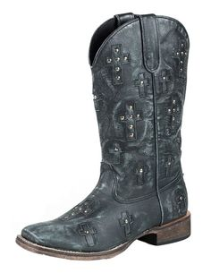Roper Women's Cross Western Boot > Quickly view this special boots, click the image : Ladies boots