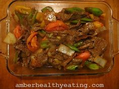 Authentic Chinese Tomato Pepper Beef- low carb keto paleo