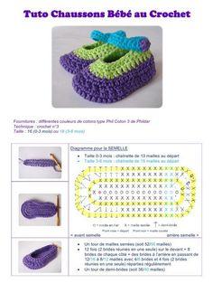 crochet tuto slippers (31)