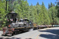 America's Most Fun and Fabulous Historic Train Rides: Yosemite Mountain Sugar Pine Railroad: California