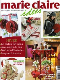 Magazine Crafts, Cross Stitch, Place Card Holders, Table Decorations, My Favorite Things, Books, Nice Ideas, Albums, Magazines