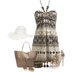 A fashion look from March 2014 featuring robe dos-nu, chaussures à plate-forme et sacs fourre-tout en cuir. Browse and shop related looks.