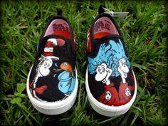 Dr. Seuss Infant Hand Painted Shoes