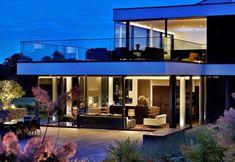 Casa de Campo moderna a orillas del río Támesis