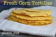 Fresh Gluten-Free Corn Tortillas