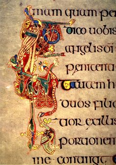 Books of Kells illumination