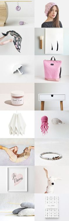 pink blush :: treasury by Barbara on #Etsy #trends #giftideas #trending #accessories #valentine #valentinesday