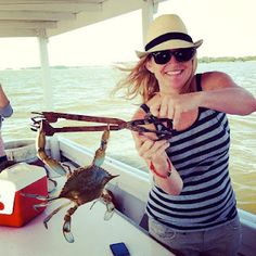 florida girl in dc...: Catching Maryland Blue Crabs on the Choptank River