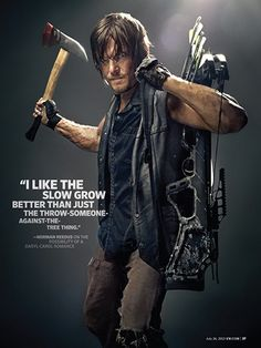 Aug Walking Dead EW Cover   Photo by Art Streiber for Entertainment Weekly.