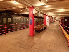 The New York Transit Museum was actually created in a decommissioned underground station in Brooklyn.
