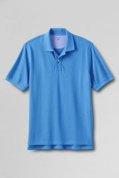 Men's Short Sleeve Original Mesh Polo Shirt from Lands' End.  $39.00 each.  Buy 3 or more, save $5 on each.