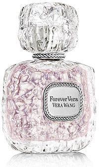Vera-Wang-Forever-Vera- white peach, Brazilian gardenia, coconut water iris, lilac, rum sandalwood, musk, tonka. Just bought this! It smells so goooood :)