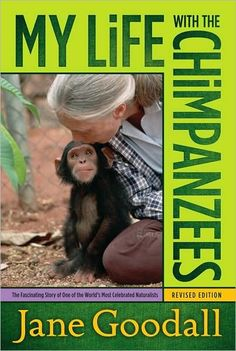 My Life with the Chimpansees | Book | Jane Goodall Institute Netherlands