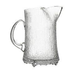 Ultima Thule Handled Ice Lip Pitcher by Iittala