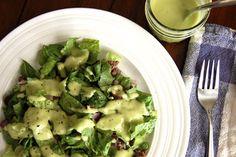 Paleo Taco Salad with Creamy Avocado Dressing - Paleo Grubs