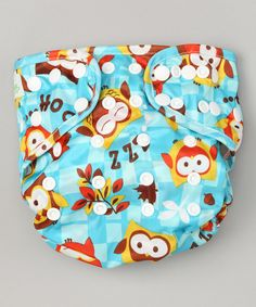 Love this Bumkins Turquoise Owl Diaper Cover by Bumkins on #zulily! #zulilyfinds