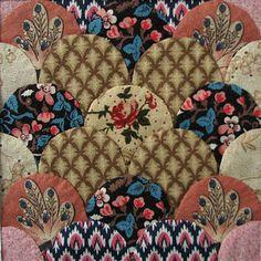 Clamshells. Jane's Threads and Treasures blog. Nice work.