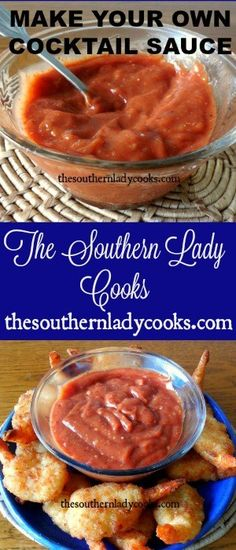 MAKE YOUR OWN COCKTAIL SAUCE - The Southern Lady Cooks This easy recipe for homemade cocktail sauce is great with any seafood. Use it for shrimp cocktails, fried shrimp or any fish where you like a hot sauce. You can make it mild or as … Homemade Cocktail Sauce, Shrimp Cocktail Sauce, Seafood Cocktail, Homemade Sauce, Cocktail Recipes, Cocktail Movie, Cocktail Party Effect, Recipe For Cocktail Sauce, Homemade Recipe