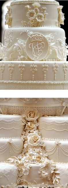 Kate and William's royal wedding cake