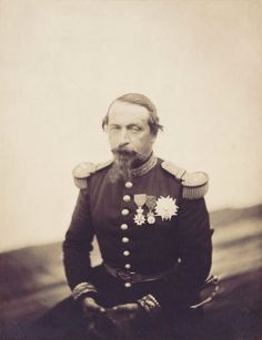 Le Gray : Napoléon III, 1857