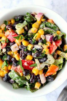 black bean taco salad 8 Black Bean Taco Salad Recipe