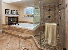 Dual showers, fireplace, soaker tub...personal spa and I'm never coming out! :-D  #Greenville #RealEstate #UpstateSC