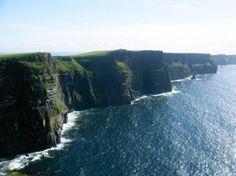 Cliffs of Moher, Ireland  Been here - amazing :)