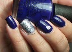 The Clockwise Nail Polish: OPI Eurso Euro & Sally Hansen Showgirl Chic