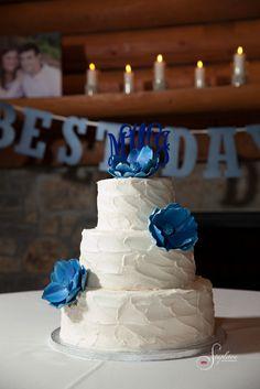 #LoughridgeWedding #WeddingCake