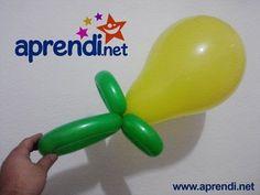 42  Esculturas de Balão (Chupeta) - Balloon Sculpture (Pacifier)