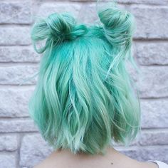 """18.2k Likes, 73 Comments - Pulp Riot Hair Color (@pulpriothair) on Instagram: """"@jmcintyrehair with this minty Pulp Riot creation."""""""