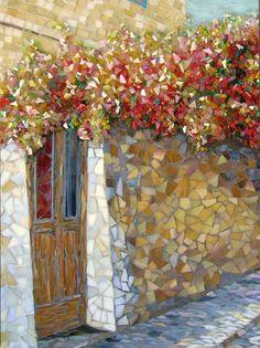 M: Fine Art Mosaic. Stained Glass Art, Mosaic Glass, Mosaic Tiles, Fused Glass, Mosaic Crafts, Mosaic Projects, Mosaic Designs, Mosaic Patterns, Sicis Mosaic