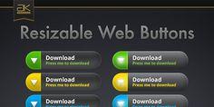 Designer Resource: Resizable Web Button Web Design, Buttons, Design Web, Website Designs, Site Design, Plugs