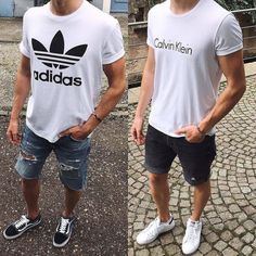 10 Ways To Wear Your T-shirt With Shorts  08685ae133