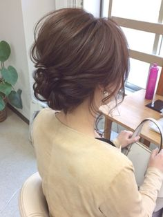 25 Five Minute Hairstyles to Keep You Sane in the Morning - Steaten Ball Hairstyles, Wedding Hairstyles, Thick Curly Hair, Curly Hair Styles, Five Minute Hairstyles, I Like Your Hair, Simple Updo, Special Occasion Hairstyles, Hair Arrange