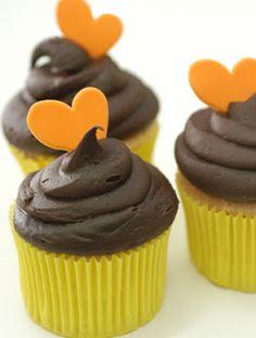 Cake da Nâna: PRIMEIRO :cupcake de chocolate