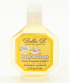 Take a look at this Baby Massage Oil by Bella B on  zulily today! 645ac1ae0a82
