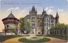Historische Postkarte - Schloß Wernigerode.