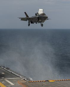 In Photos: F-35 Fighter Jet Makes 1st Vertical Night Landing