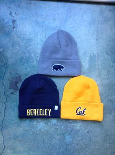 e22aa5ce1f7 Cal beanies for instant coolness! Price  16 Visit us in store or online at  www.bearbasics.com