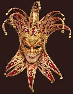 Venetian Mask - The Carnival of Venice, in which all are equal behind their masks, dates back to 1268 AD